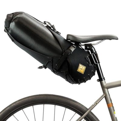 Restrap bikepacking saddle bag (holster + dry bag)