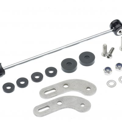 Tubus Adapter Set For QR-Axle Mounting (rear carrier)