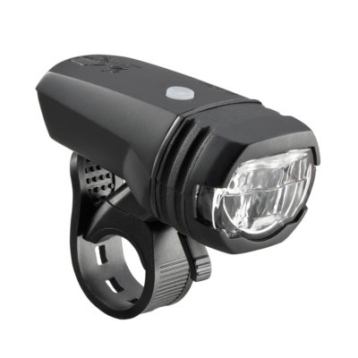 Phare LED avant AXA Greenline 50 Lux, rechargeable USB