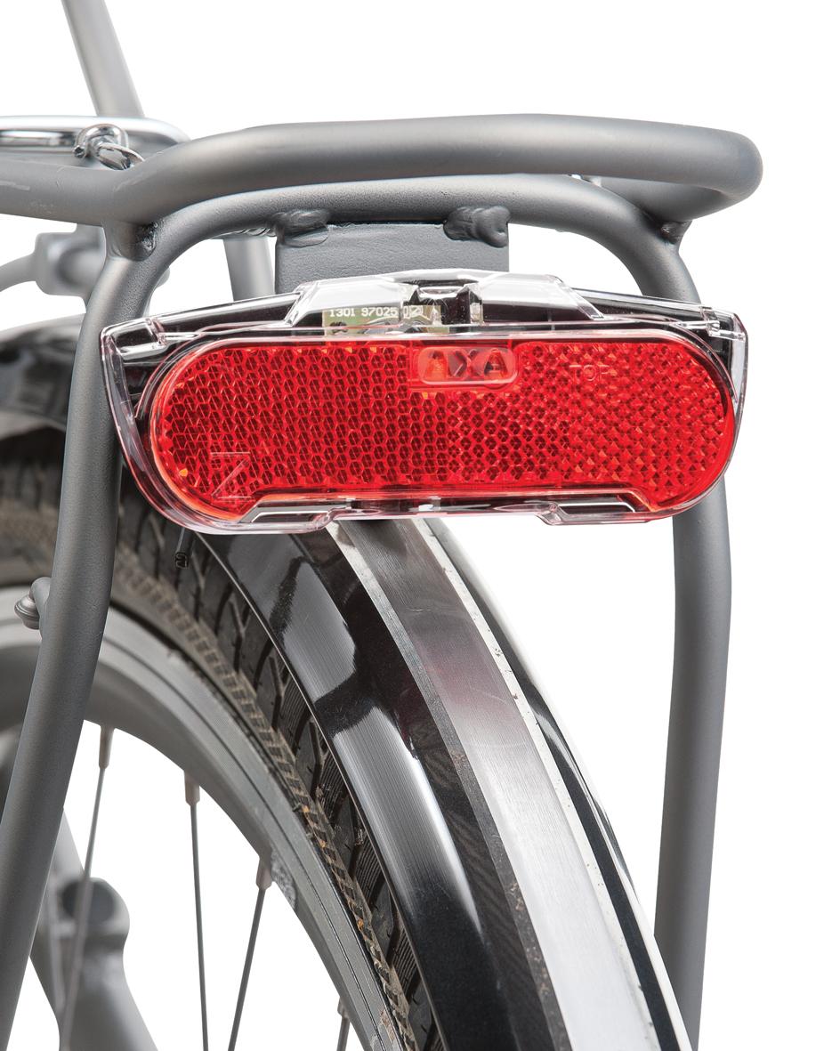standlight 6v ebike ready NEW AXA Blueline Steady LED Rear Light for Dynamos