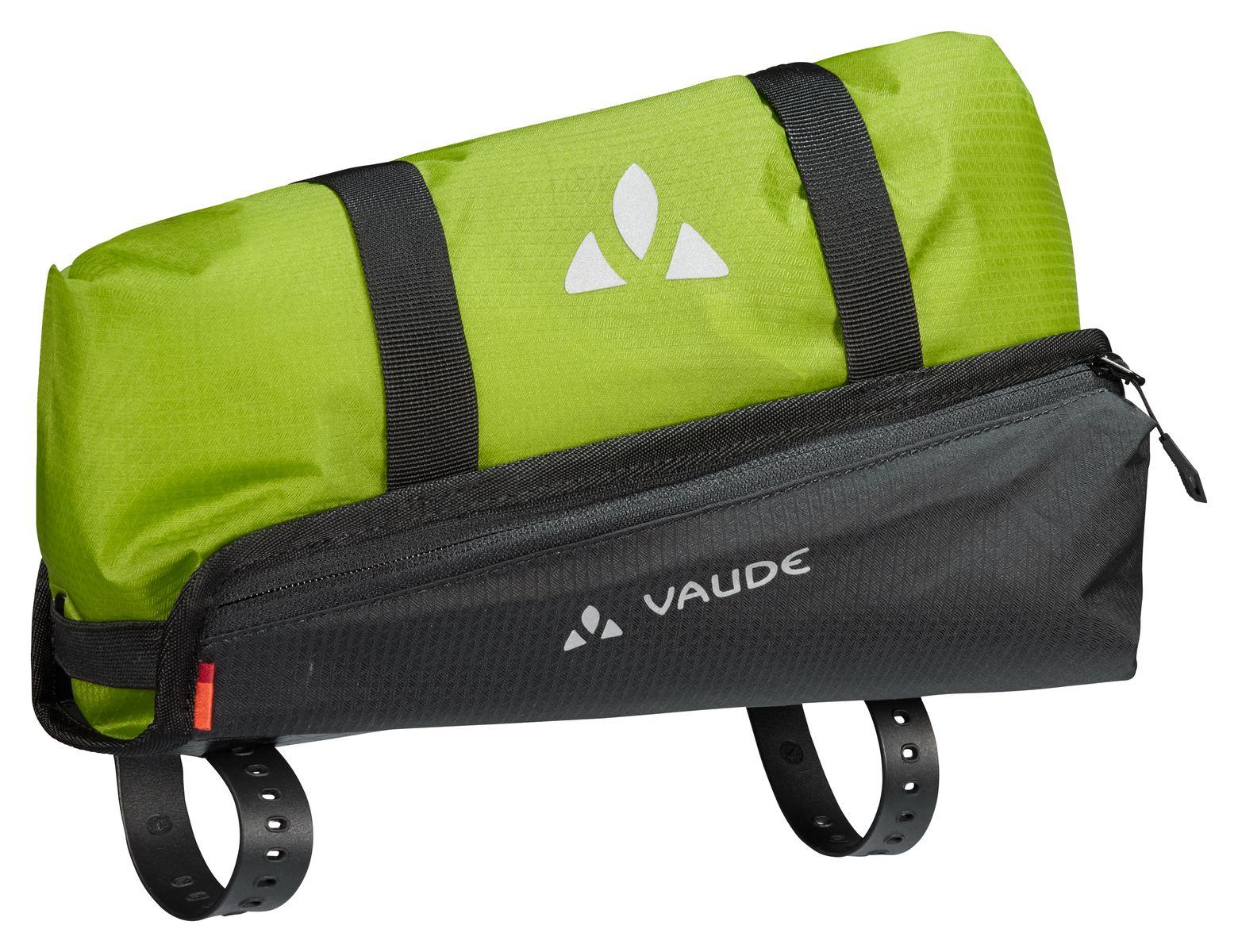 /Black Vaude Tube Bag Saddle Bag/