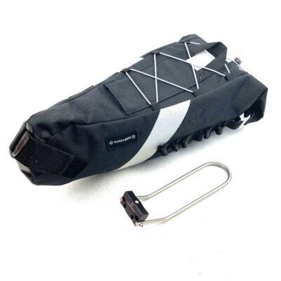 Bikepacking saddle bag Carradice Seatpack